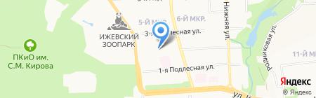 Адвокатский кабинет Кулакова К.А. на карте Ижевска