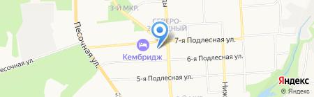 Копеечка на карте Ижевска