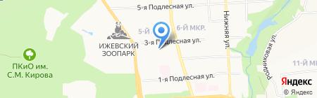 Республиканский центр профилактики и лечения близорукости на карте Ижевска