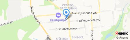 Домовой на карте Ижевска