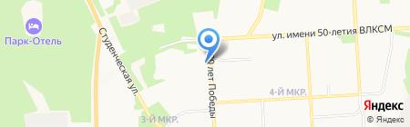 Российские студенческие отряды на карте Ижевска