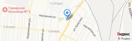 Домино на карте Ижевска
