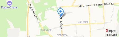 Домашний текстиль на карте Ижевска
