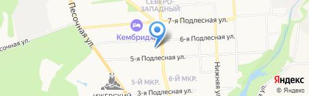 Детский сад №40 на карте Ижевска