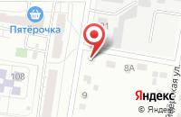 Схема проезда до компании Платежный терминал в Среднем Азяково