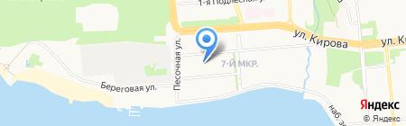 СоюзОптТорг на карте Ижевска
