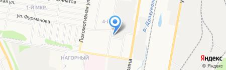 Мир Шин на карте Ижевска