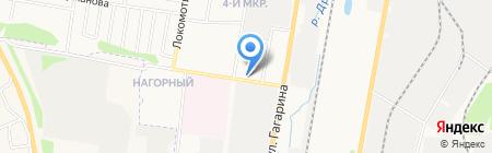 Мастер на карте Ижевска