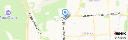 LegosTravel на карте Ижевска