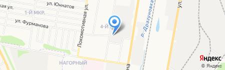 Печатник на карте Ижевска