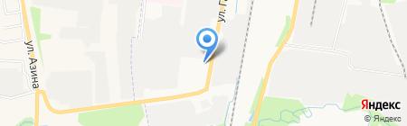 Коммерческий транспорт Удмуртии на карте Ижевска