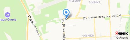 Все пучком на карте Ижевска