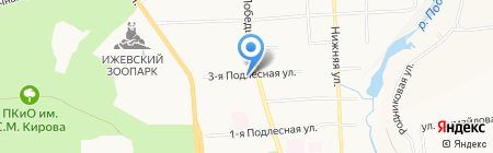 Ижтрейдинг на карте Ижевска