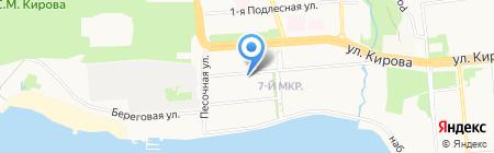 Иж-Экосфера на карте Ижевска