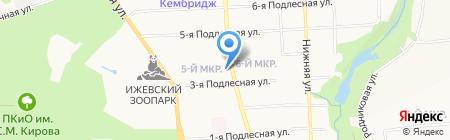 Юлмарт 24 на карте Ижевска