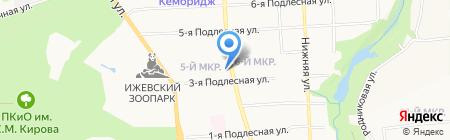 Буржуй & ка на карте Ижевска