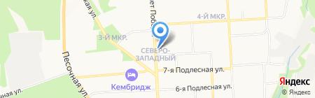Лаура на карте Ижевска