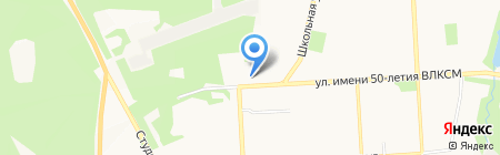 Андреевский на карте Ижевска