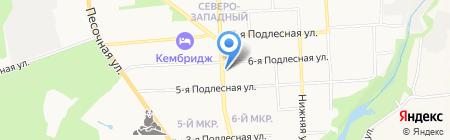 Муниципальная управляющая компания на карте Ижевска
