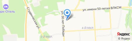 Proect3d на карте Ижевска