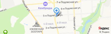 Цветочное настроение на карте Ижевска