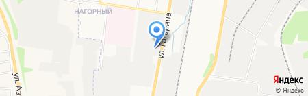 ЦБПО на карте Ижевска