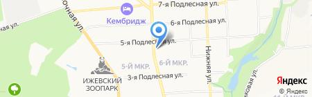 Sarafan на карте Ижевска