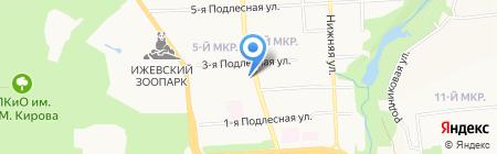 Военно-мемориальная компания на карте Ижевска