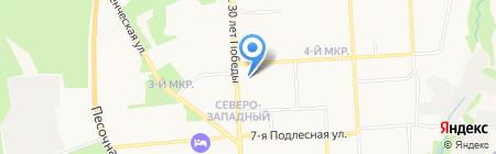 Удмуртский центр профессиональной подготовки и повышения квалификации кадрового федерального дорожного агентства на карте Ижевска