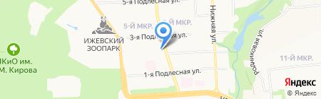 Tea & Smoke на карте Ижевска