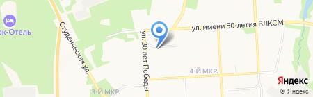 Контакт-Электросервис на карте Ижевска