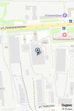 Термосталь на карте Ижевска