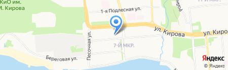 Республиканский учебно-методический центр службы занятости населения на карте Ижевска