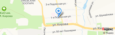 Автодормостпроект на карте Ижевска