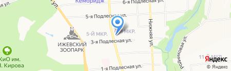 FотограF на карте Ижевска