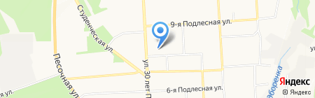 3D Planet на карте Ижевска