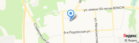 Детский сад №72 на карте Ижевска