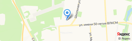 Каляка маляка на карте Ижевска