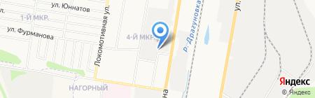 Автосервис на Гагарина на карте Ижевска