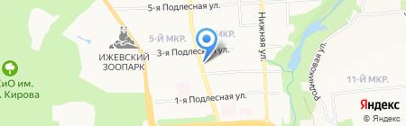 Срочная химчистка на карте Ижевска
