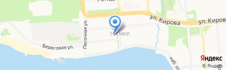 Альянс на карте Ижевска