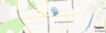 Стоматологическая поликлиника №3 на карте Ижевска