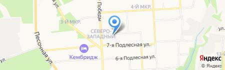 ИжГТУ на карте Ижевска