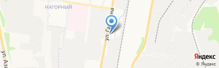 Ринкам на карте Ижевска
