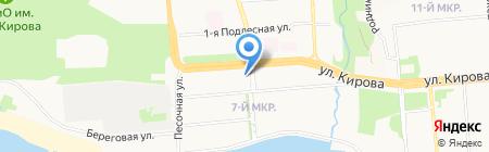 Союз филателистов Удмуртии на карте Ижевска