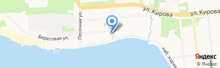 Экономико-математический лицей №29 на карте Ижевска