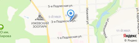 Ареал-С на карте Ижевска