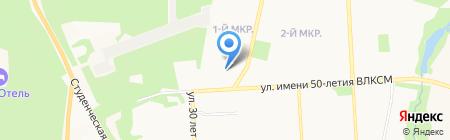 В двух шагах на карте Ижевска
