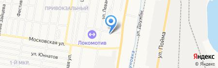 Городская больница №3 на карте Ижевска