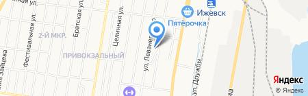 Торгово-производственная фирма на карте Ижевска